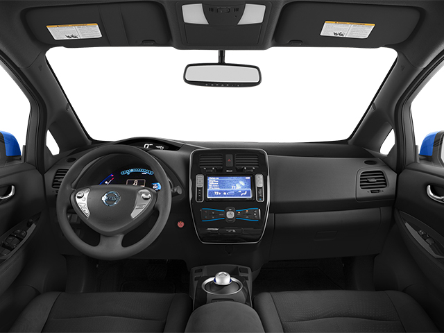 2014 Nissan LEAF Prices and Values Hatchback 5D S Electric full dashboard