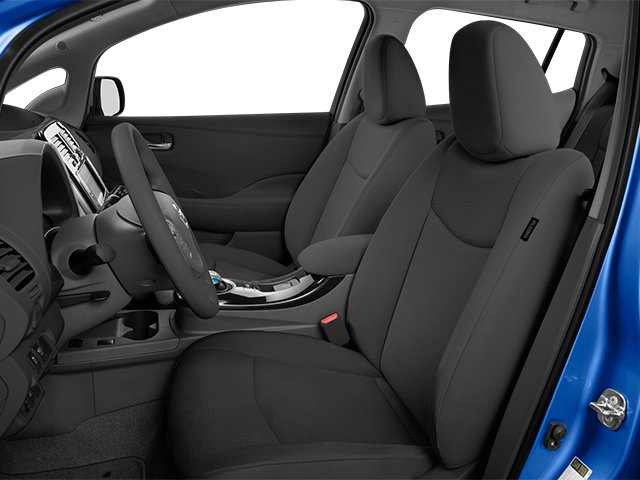 2014 Nissan LEAF Prices and Values Hatchback 5D S Electric front seat interior