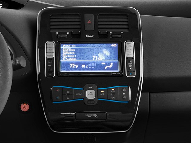 2014 Nissan LEAF Prices and Values Hatchback 5D S Electric stereo system