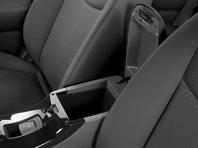 2014 Nissan LEAF Prices and Values Hatchback 5D S Electric center storage console