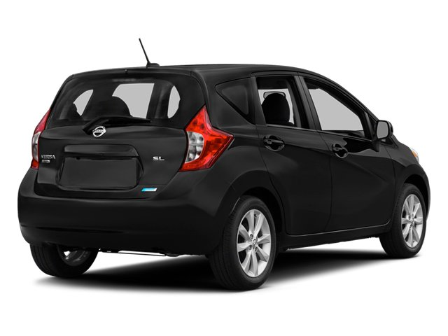 2014 Nissan Versa Note Pictures Versa Note Hatchback 5D Note S Plus I4 photos side rear view