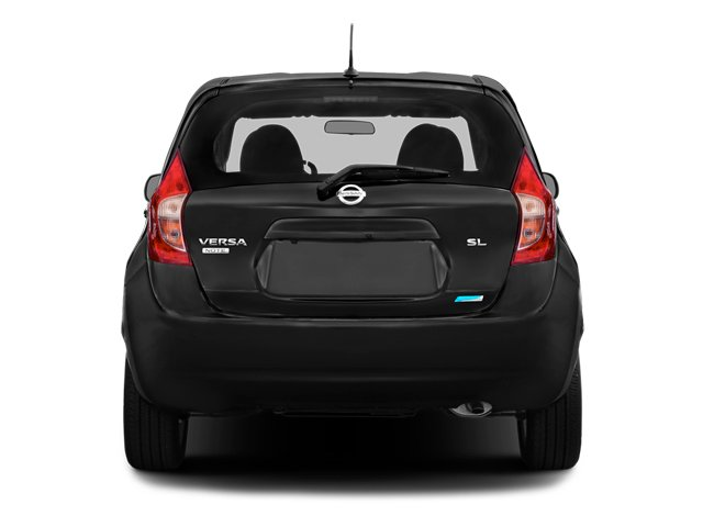 2014 Nissan Versa Note Pictures Versa Note Hatchback 5D Note S Plus I4 photos rear view