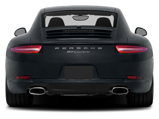 2014 Porsche 911 Prices and Values Coupe 2D H6 rear view