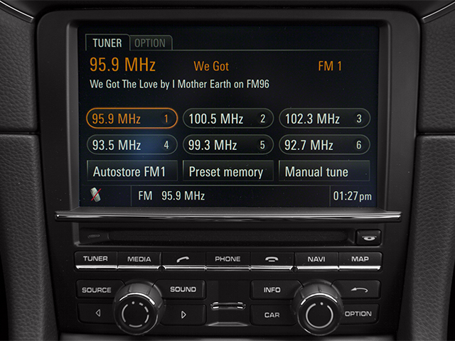 2014 Porsche 911 Prices and Values Coupe 2D H6 stereo system