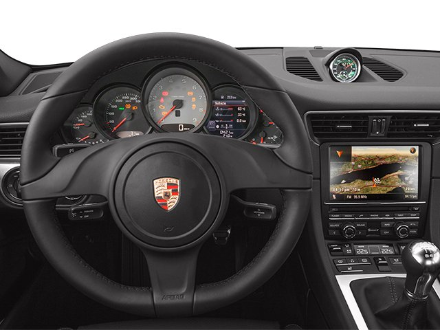 2014 Porsche 911 Prices and Values Coupe 2D Turbo AWD H6 driver's dashboard