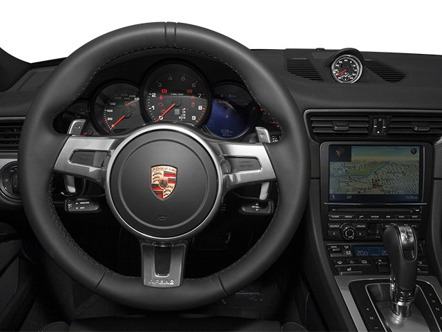 2014 Porsche 911 Prices and Values Coupe 2D 4S AWD H6 driver's dashboard