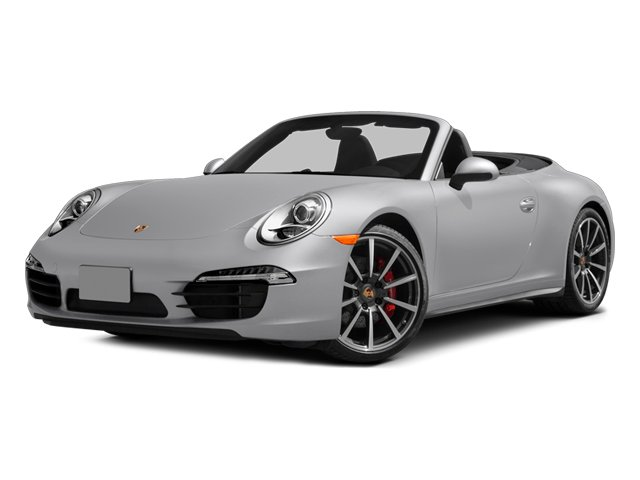 2014 Porsche 911 Prices and Values Cabriolet 2D 4S AWD H6 side front view