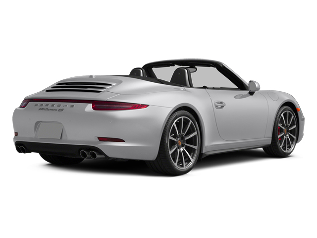2014 Porsche 911 Prices and Values Cabriolet 2D 4 AWD H6 side rear view