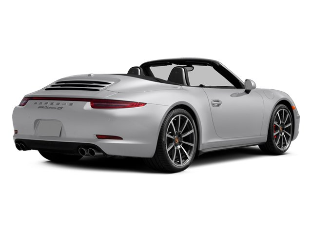 2014 Porsche 911 Prices and Values Cabriolet 2D 4S AWD H6 side rear view
