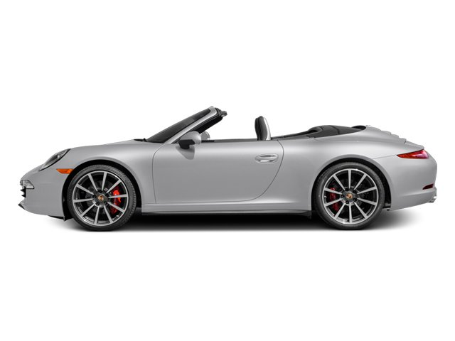 2014 Porsche 911 Prices and Values Cabriolet 2D 4S AWD H6 side view