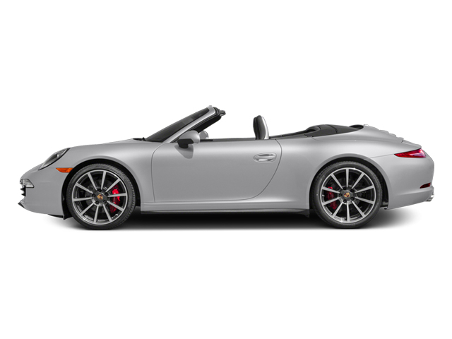 2014 Porsche 911 Prices and Values Cabriolet 2D 4 AWD H6 side view