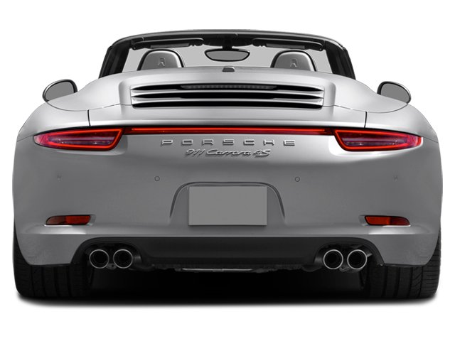 2014 Porsche 911 Prices and Values Cabriolet 2D 4 AWD H6 rear view