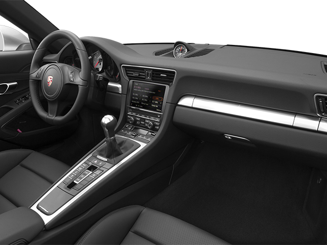 2014 Porsche 911 Prices and Values Cabriolet 2D 4 AWD H6 passenger's dashboard