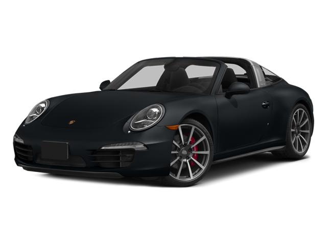 2014 Porsche 911 Prices and Values Coupe 2D 4S Targa AWD side front view