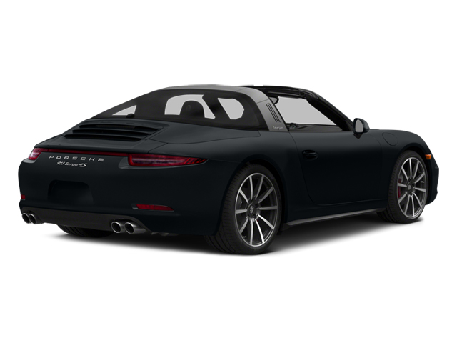 2014 Porsche 911 Prices and Values Coupe 2D 4S Targa AWD side rear view