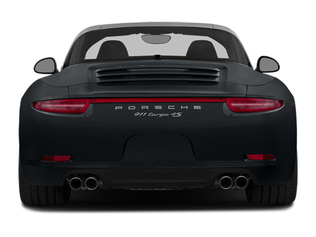 2014 Porsche 911 Prices and Values Coupe 2D 4S Targa AWD rear view