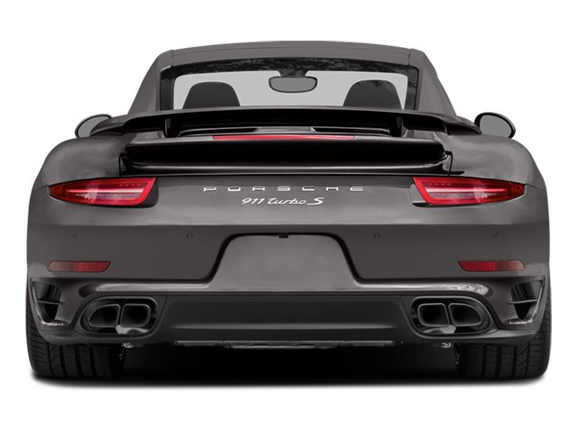 2014 Porsche 911 Prices and Values Coupe 2D Turbo S AWD H6 rear view