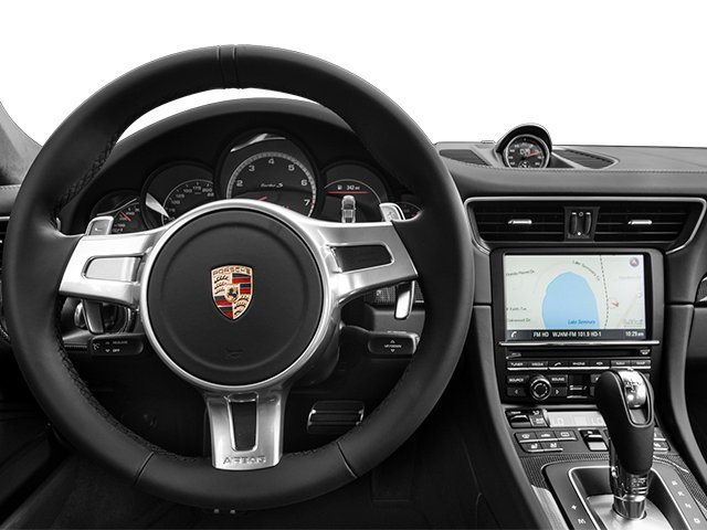 2014 Porsche 911 Prices and Values Coupe 2D Turbo S AWD H6 driver's dashboard