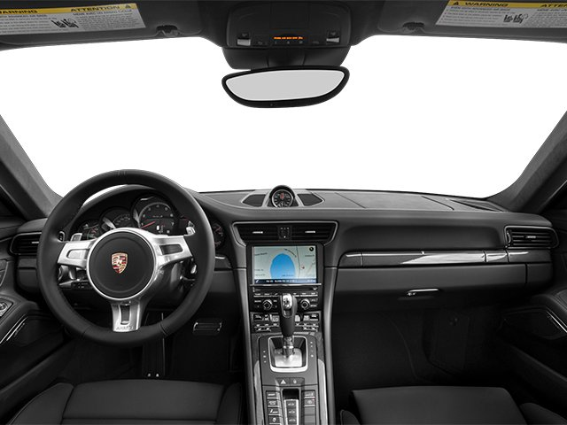 2014 Porsche 911 Prices and Values Coupe 2D Turbo S AWD H6 full dashboard