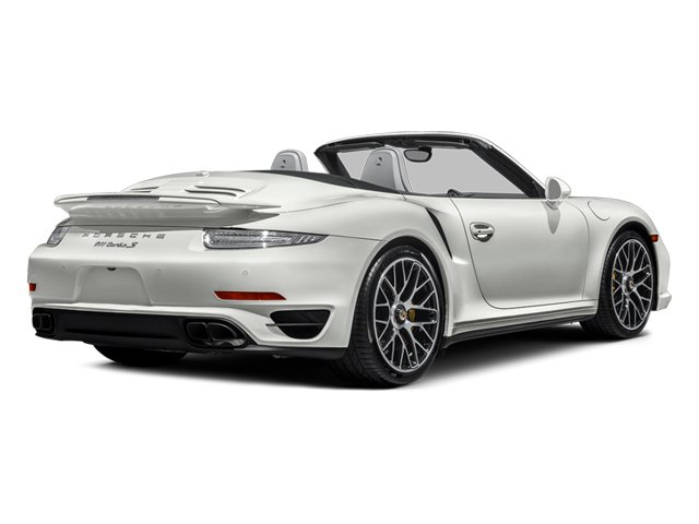 2014 Porsche 911 Prices and Values Cabriolet 2D AWD H6 Turbo side rear view