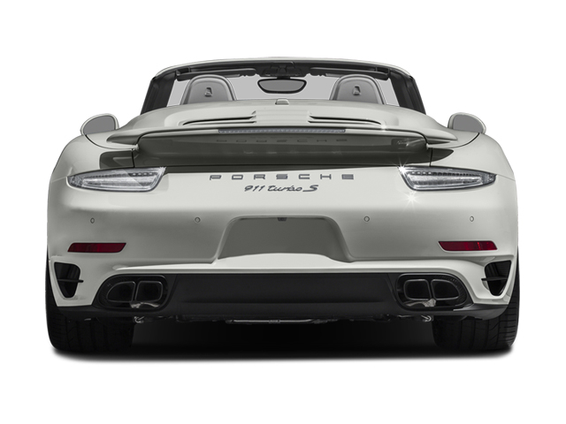 2014 Porsche 911 Prices and Values Cabriolet 2D AWD H6 Turbo rear view