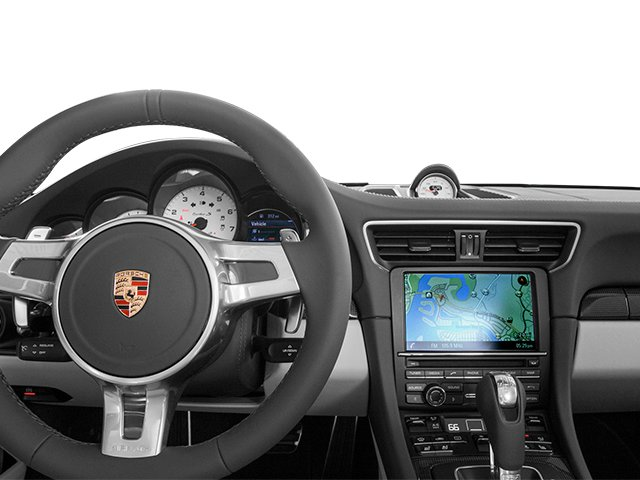 2014 Porsche 911 Prices and Values Cabriolet 2D AWD H6 Turbo driver's dashboard