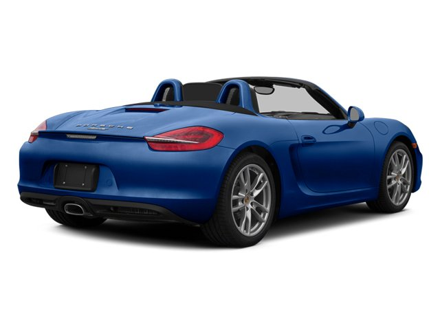 2014 Porsche Boxster Prices and Values Roadster 2D H6 side rear view