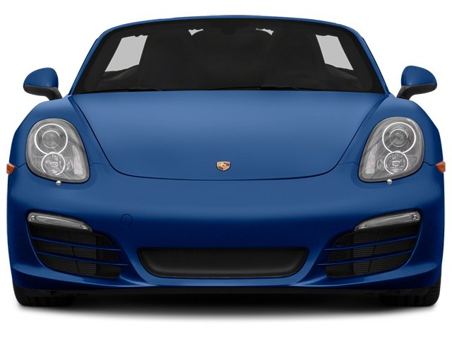2014 Porsche Boxster Prices and Values Roadster 2D H6 front view