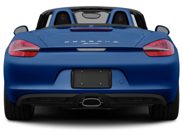 2014 Porsche Boxster Prices and Values Roadster 2D H6 rear view
