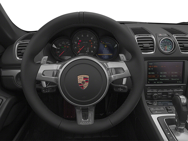 2014 Porsche Boxster Prices and Values Roadster 2D H6 driver's dashboard