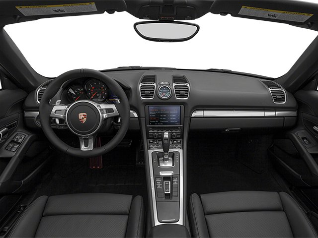 2014 Porsche Boxster Prices and Values Roadster 2D H6 full dashboard