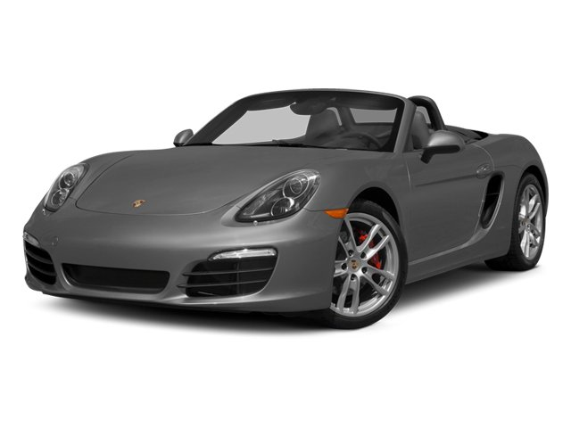 2014 Porsche Boxster Prices and Values Roadster 2D S H6 side front view
