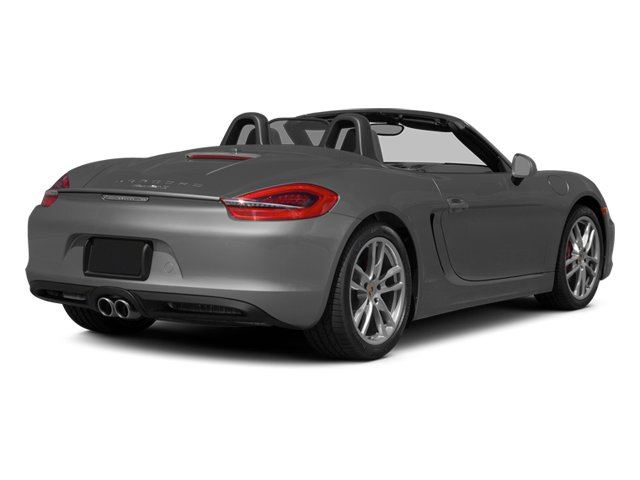 2014 Porsche Boxster Prices and Values Roadster 2D S H6 side rear view