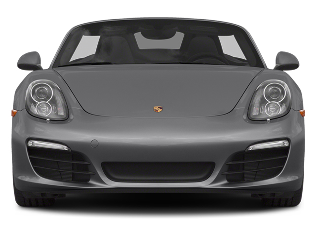 2014 Porsche Boxster Prices and Values Roadster 2D S H6 front view