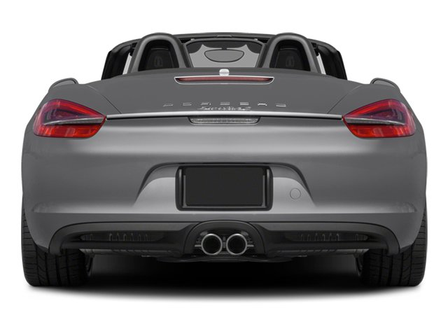 2014 Porsche Boxster Prices and Values Roadster 2D S H6 rear view