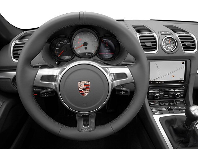2014 Porsche Boxster Prices and Values Roadster 2D S H6 driver's dashboard