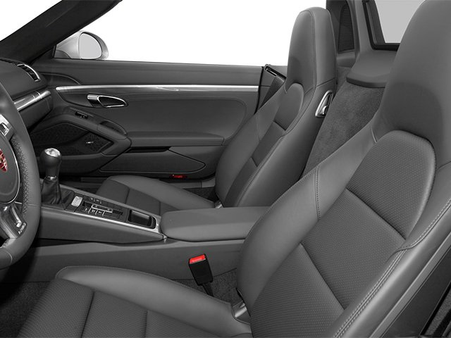 2014 Porsche Boxster Prices and Values Roadster 2D S H6 front seat interior