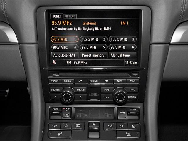 2014 Porsche Boxster Prices and Values Roadster 2D S H6 stereo system