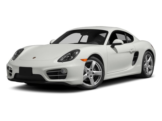 2014 Porsche Cayman Prices and Values Coupe 2D H6 side front view