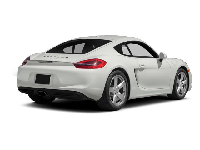 2014 Porsche Cayman Prices and Values Coupe 2D H6 side rear view