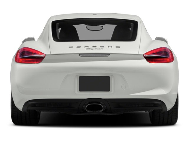 2014 Porsche Cayman Prices and Values Coupe 2D H6 rear view