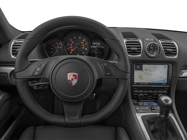 2014 Porsche Cayman Prices and Values Coupe 2D H6 driver's dashboard