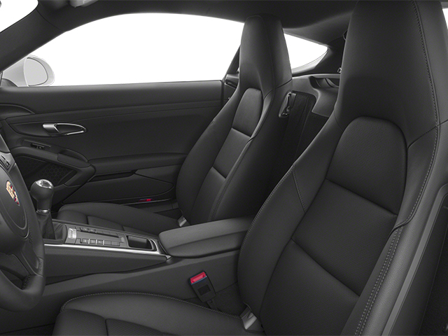 2014 Porsche Cayman Prices and Values Coupe 2D H6 front seat interior