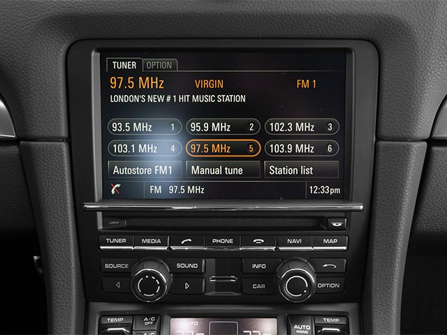 2014 Porsche Cayman Prices and Values Coupe 2D H6 stereo system