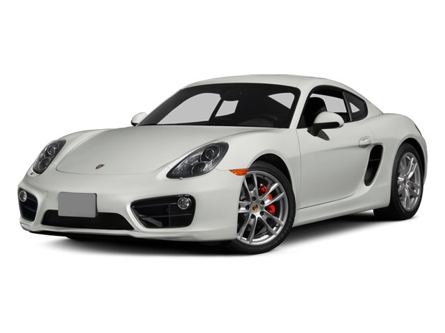 2014 Porsche Cayman Prices and Values Coupe 2D S H6 side front view