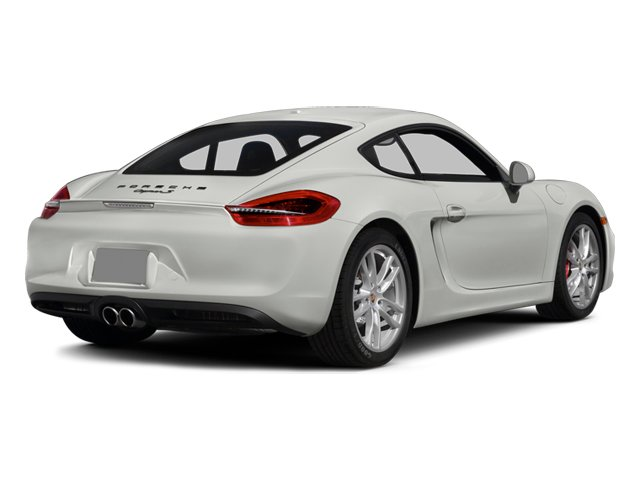 2014 Porsche Cayman Prices and Values Coupe 2D S H6 side rear view