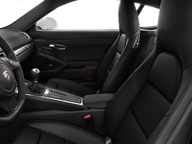 2014 Porsche Cayman Prices and Values Coupe 2D S H6 front seat interior