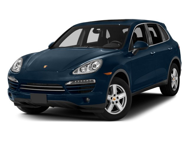 2014 Porsche Cayenne Prices and Values Utility 4D Platinum AWD V6 T-Diesel side front view