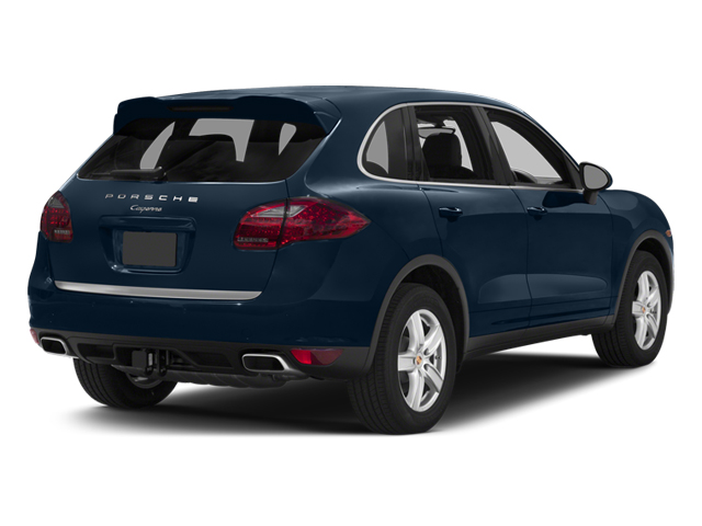 2014 Porsche Cayenne Pictures Cayenne Utility 4D Platinum AWD V6 T-Diesel photos side rear view