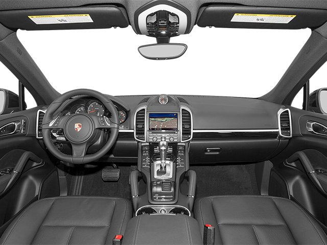 2014 Porsche Cayenne Prices and Values Utility 4D Platinum AWD V6 T-Diesel full dashboard